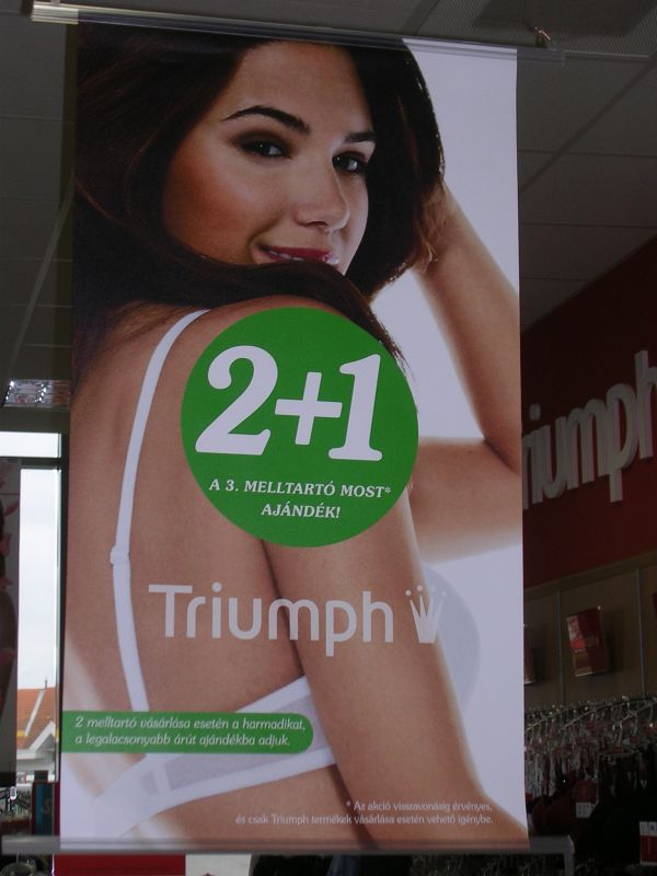 Triumph Fehérnemű Üzlet Gyula